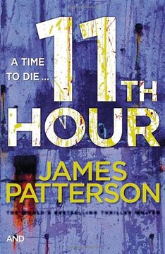 portada 11th hour. james patterson and maxine paetro
