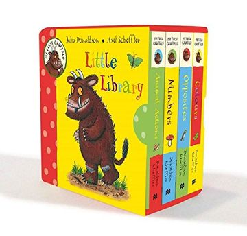 portada My First Gruffalo Little Library (libro en inglés)
