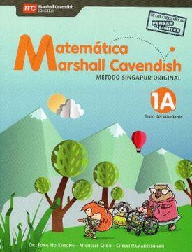 portada Matemática Marshall Cavendish 1º Básico (Tomos 1a, 1b, 1c y 1d)