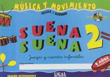 portada Suena Suena 2, Juegos y Cuentos Infantiles, Para 6 Años (Formación Básica - Fichas del Alumno)