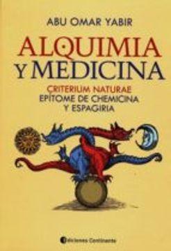 portada ALQUIMIA Y MEDICINA (En papel)