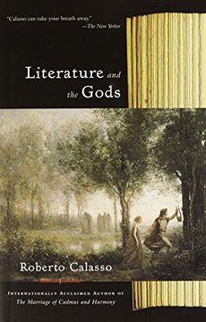 portada Literature and the Gods (libro en Inglés)