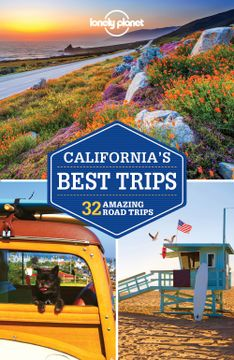 portada Lonely Planet California's Best Trips (libro en inglés)