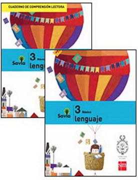 portada Set Lenguaje 3° Básico (Proyecto Savia) (Sm)