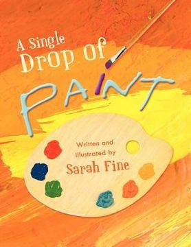 portada a single drop of paint