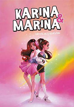 portada Idénticas y Opuestas (Karina & Marina 1)
