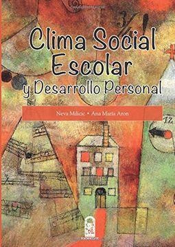 portada Clima Social Escolar y Desarrollo Personal