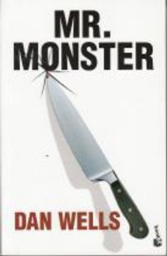 portada Mr. Monster (Trilogía John Wayne Clever 2