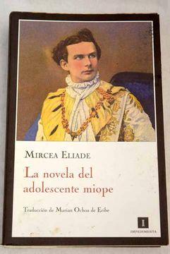 portada La novela del adolescente miope: Gaudeamus