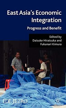 portada East Asia's Economic Integration: Progress and Benefit (Ide-Jetro Series) (libro en Inglés)