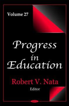 portada Progress in Education (libro en inglés)