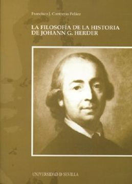 portada La Filosofía de la Historia de Hohann g. Herder