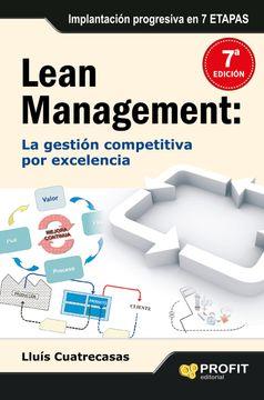 portada Lean Management: Lean Management es la Gestión Competitiva por Excelencia