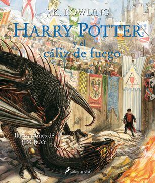 portada Harry Potter y el Cáliz de Fuego (4) (Edicion Ilustrada) (Td)