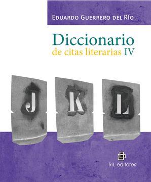 portada Diccionario de citas literarias IV