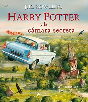 portada Harry Potter 2: Harry Potter y la Camara Secreta (Edicion Ilustrada)