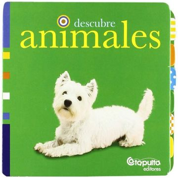 portada Descubre Animales. Catapulta Editores.