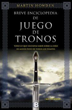 portada Breve Enciclopedia de Juego de Tronos