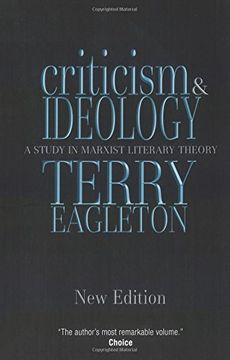 portada Criticism and Ideology: A Study in Marxist Literary Theory (libro en Inglés)