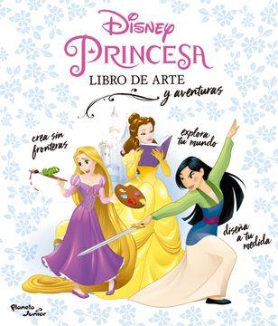 portada Disney Princesa. Libro de Arte y Aventuras