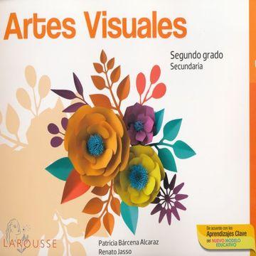 portada Artes Visuales 2. Cuaderno de Ejercicios. Secundaria