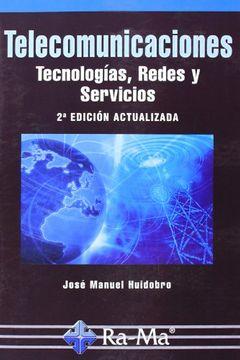 portada Telecomunicaciones. Tecnologías, Redes y Servicios. 2ª Edición Actualizada