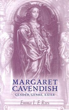 portada margaret cavendish: gender, genre, exile