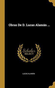 portada Obras de d. Lucas Alamán.