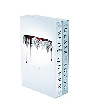 portada Red Queen 2-Book Paperback box Set: Red Queen, Glass Sword (libro en Inglés)
