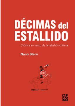portada Décimas del Estallido. Crónica en Verso de la Rebelión Chilena