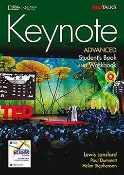 portada Keynote Advanced b Al+Ej+Dvdr (libro en Inglés)