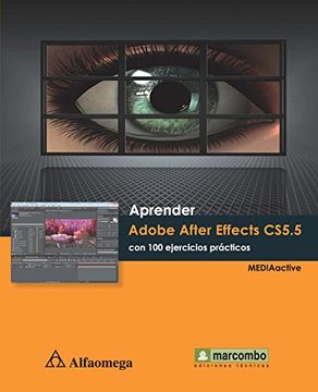 portada Aprender Adobe After Effects Cs5. 5 con 100 Ejercicios Practicos