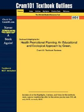 portada health promotional planning: an educational and ecological approach