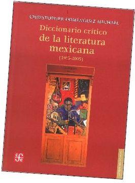 portada Diccionario Critico de la Literatura Mexicana (1955-2005)