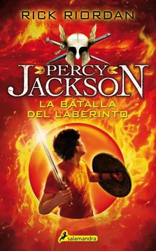 portada Percy Jackson y los Dioses del Olimpo 4 la Batalla del Laberinto
