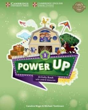 portada Power up Level 1 Activity Book With Online Resources and Home Booklet (libro en Inglés)