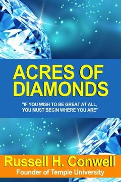 portada Acres of Diamonds (Dover Empower Your Life): By Russell Herman Conwell (2008-12-26)