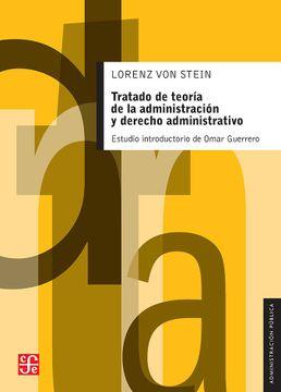portada Tratado de Teoria de la Administracion y Derecho Administrativo