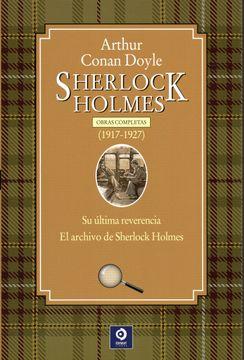 portada Obras Completas de Sherlock Holmes: Sherlock Holmes  1917-1927: 4