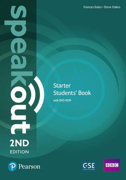 portada Speakout Starter 2nd Edition Students' Book and Dvd-Rom Pack (libro en Inglés)