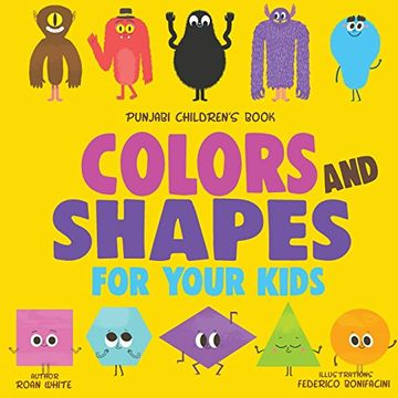 portada Punjabi Children's Book: Colors and Shapes for Your Kids (libro en inglés)