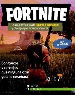 portada Fortnite. La Guía Definitiva de Battle Royale