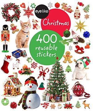 portada Eyelike Stickers: Christmas: 400 reusable stickers