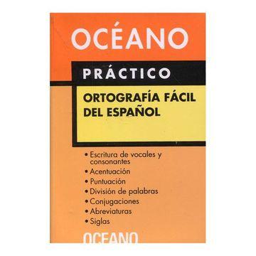 portada Diccionario Oceano Practico Ortografia Facil del Español