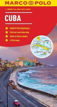portada Cuba Marco Polo Map (libro en Inglés)