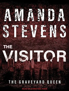portada The Visitor (Graveyard Queen) (libro en Inglés) (Audiolibro)