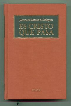 portada Es Cristo que Pasa. (Formato Biblioteca) (Libros de Josemaría Escrivá de Balaguer)