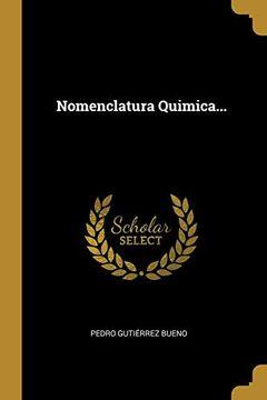 portada Nomenclatura Quimica.