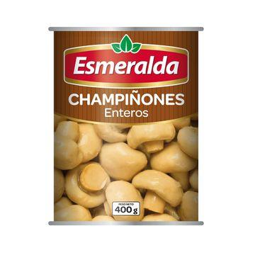 portada CHAMPIÑON ENTERO (400g) Marca Esmeralda