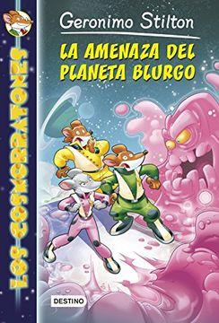 portada La Amenaza Del Planeta Burgo- Alien Escape